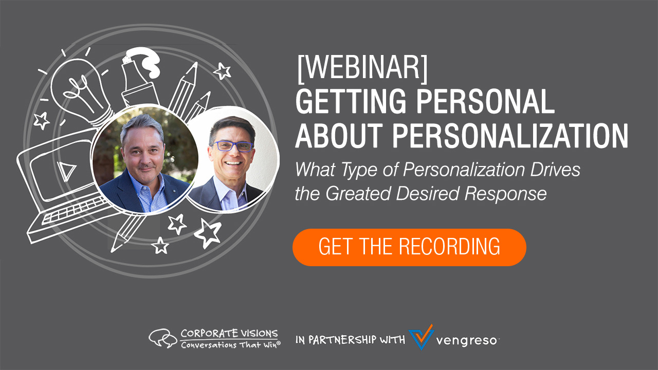 Getting Personal About Personalization
